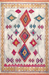 Nuloom Audrey Diamond Multi Area Rug