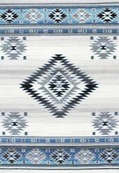 Nuloom Navajo 165552 Aqua Area Rug