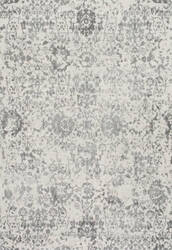 Famous Maker Floral Rosemary Grey Area Rug