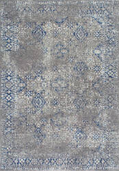 Famous Maker Distressed Mabelle Dark Blue Area Rug