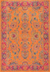 Nuloom Floral Persian Mirella Orange Area Rug