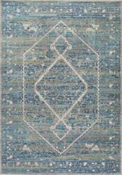 Nuloom Vintage Medallion Rima Blue Area Rug