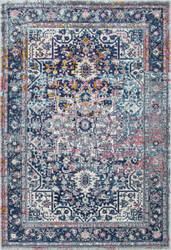 Famous Maker Persian Raylene Blue Area Rug