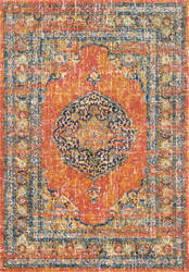 Nuloom Persian Vintage Olivia Orange Area Rug