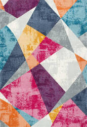 Nuloom Abstract Mosaic Anya Multi Area Rug