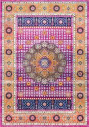 Nuloom Persian Medallion Santina Pink Area Rug