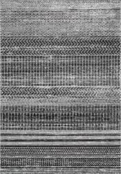 Nuloom Nova Stripes Dark Grey Area Rug