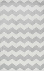 Nuloom Aponte Chevron Grey Area Rug
