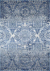 Famous Maker Vintage Bellamy Blue Area Rug