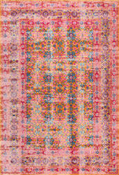 Nuloom Vintage Mirella Orange Area Rug
