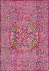 Nuloom Celina Floral Mandala Pink Area Rug
