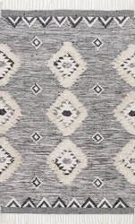 Famous Maker Savannah Moroccan Gray Area Rug