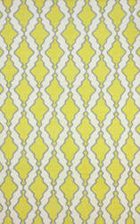 Nuloom Flat Woven Tracey Yellow Area Rug