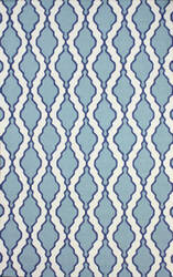 Nuloom Flat Woven Tracey Blue Area Rug