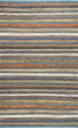 Famous Maker Erasmo Stripes Multi Area Rug