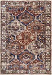 Famous Maker Vintage Sharonda Rust Area Rug