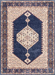 Nuloom Julie Vintage Medallion Blue Area Rug