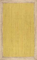 Nuloom Hand Woven Eleonora Yellow Area Rug