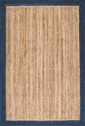 Famous Maker Hand Woven Eleonora Navy Area Rug