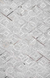 Nuloom Handmade Chanda Cowhide Grey Area Rug