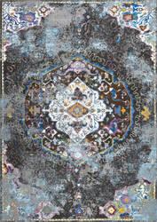 Nuloom Ramonita Vintage Oriental Dark Grey Area Rug