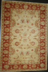ORG Peshawar Ult-769 Beige And Red Area Rug