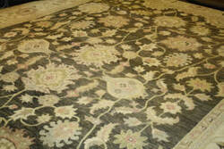 ORG Peshawar Ult-67 Brown And Beige Area Rug