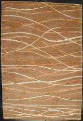 ORG Premium Tibetan Ripple Silk Rff 1058 Ook Carmel Area Rug
