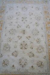 ORG Peshawar Floral Tan Area Rug