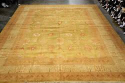 Org 16/18 Antiqued V-1681 Lime - Ivory Area Rug
