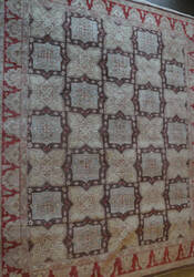 ORG Peshawar Anf-6001 Brown - Red Area Rug