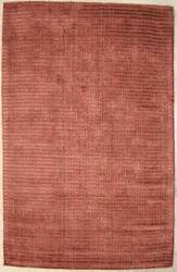 ORG Natural Weaves Stripe 33 Brown - Brick Area Rug