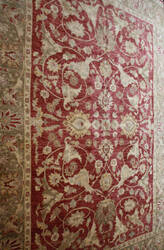 ORG Peshawar Ult-111 Red - Green Area Rug