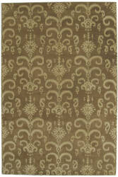 ORG Ikat-Tufted ST-505 Brown Area Rug