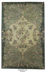 ORG Handtufted Wrought Iron Sage Area Rug