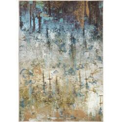 Orian Transitions Blurred Colors Multi Area Rug