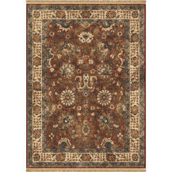 Orian Marrakesh Persian Varse Claret Area Rug