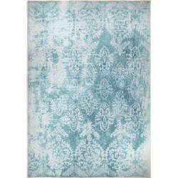 Orian Transitions Cabernet Teal Area Rug