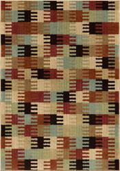 Orian American Heritage Coleman Red Area Rug