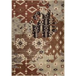 Orian American Heritage Kilim Patches Multi Area Rug