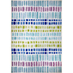 Orian Transitions Loma Blue Area Rug