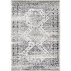 Orian Bali Diamonds Direct White Area Rug