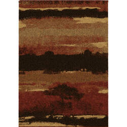Orian Wild Weave Canyon Rouge Area Rug