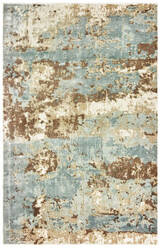 Oriental Weavers Formations 70001 Blue - Brown Area Rug