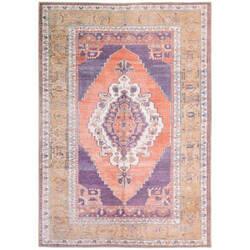 Oriental Weavers Sofia 85822 Purple - Orange Area Rug