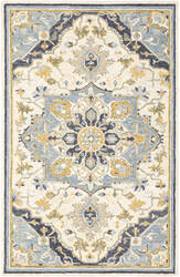 Oriental Weavers Alfresco 28402 Blue - Ivory Area Rug