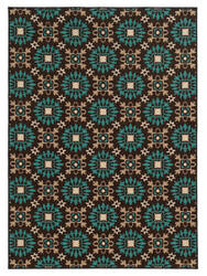 Oriental Weavers Arabella 15862 Chocolate Area Rug