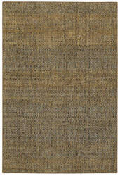 Oriental Weavers Atlas 8048p Green - Gold Area Rug
