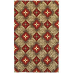 Tommy Bahama Atrium 51109 Brown Area Rug