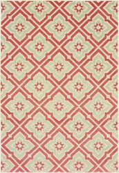 Oriental Weavers Barbados 1801c Pink - Ivory Area Rug